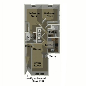 Pebble Ridge Two Bedroom Apt